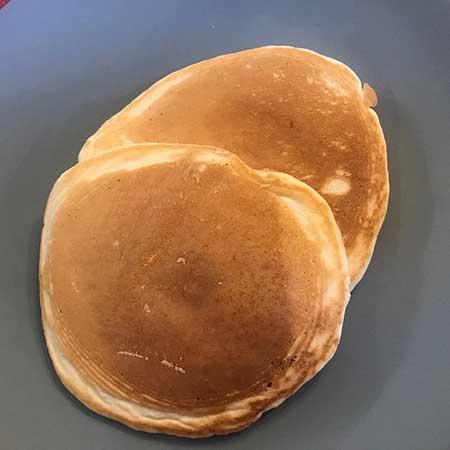 Pancake di soli albumi