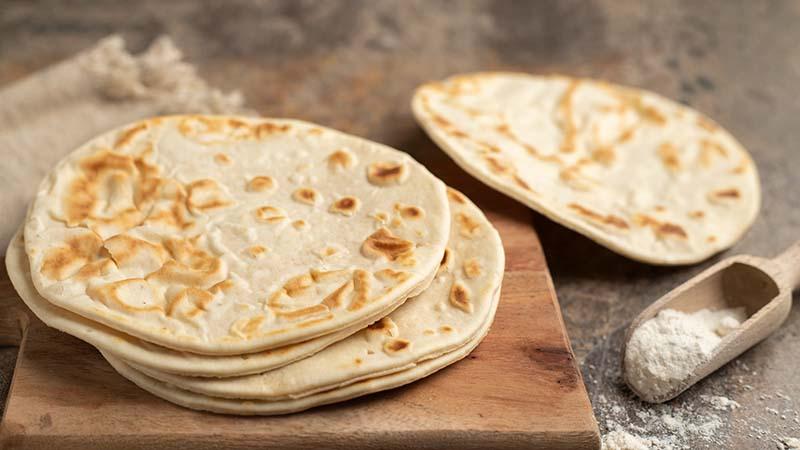 Pane azzimo senza glutine
