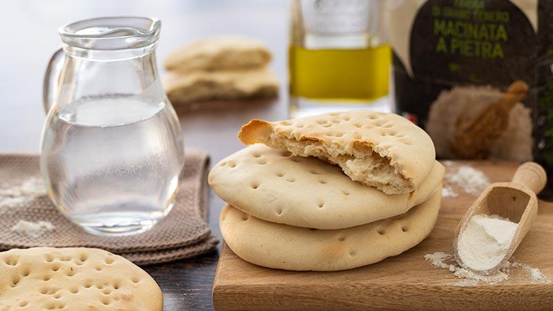 Pane azzimo senza lievito