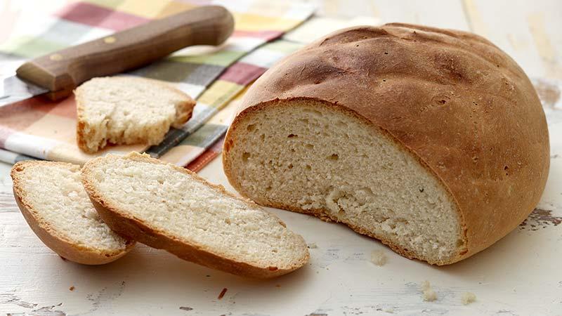 Pane bianco con farina 0