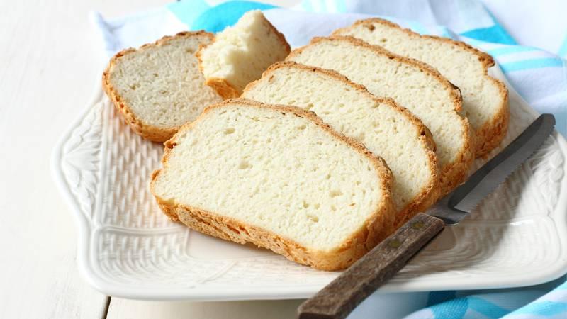Pane bianco senza glutine