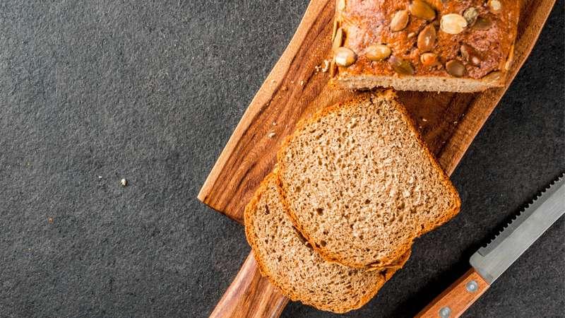 Pane con semi di zucca