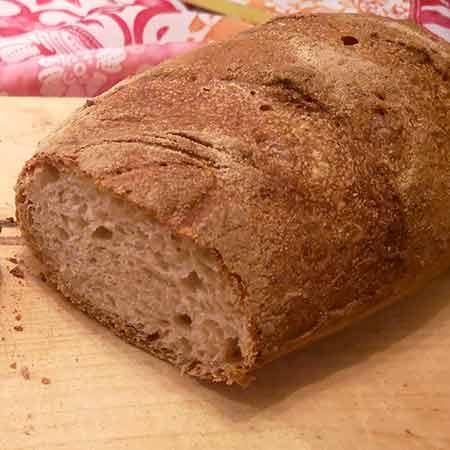 Pane di semola integrale