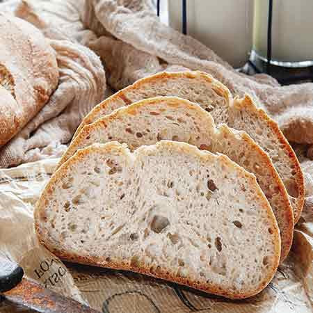 Pane veloce con farina manitoba
