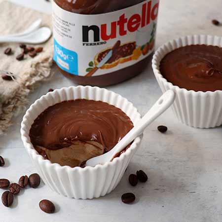 Panna cotta caffè e Nutella