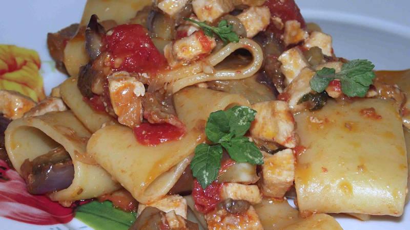 Pasta Con Pesce Spada E Melanzane Ricette Bimby
