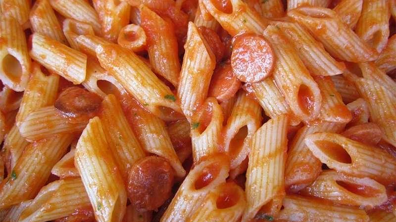Ricetta Wurstel Pomodoro E Mozzarella.Pasta Pomodoro E Wurstel Ricette Bimby