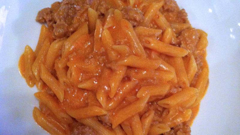 Ricetta pasta con la panna bimby
