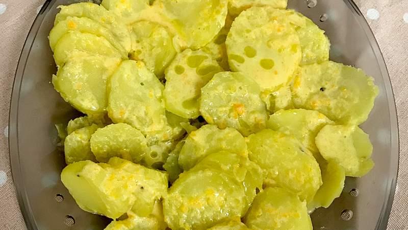 Patate al profumo di carota