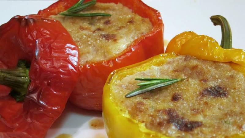 Peperoni ripieni vegetariani