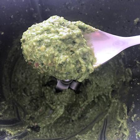 Pesto alla genovese senza aglio