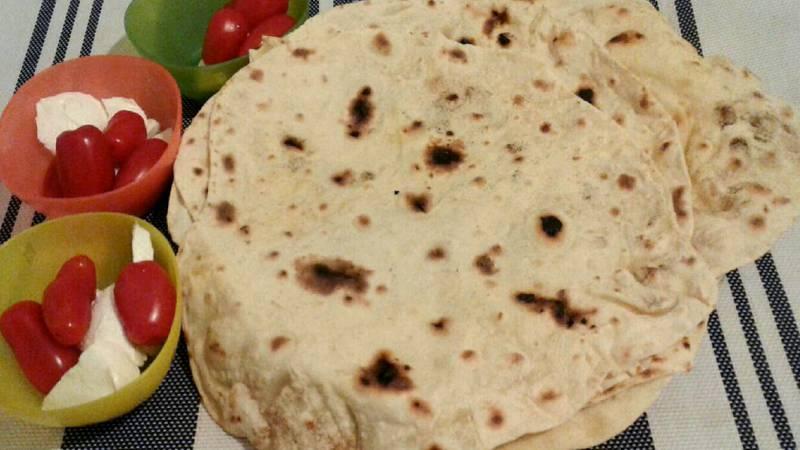 Piadine con farina di Kamut