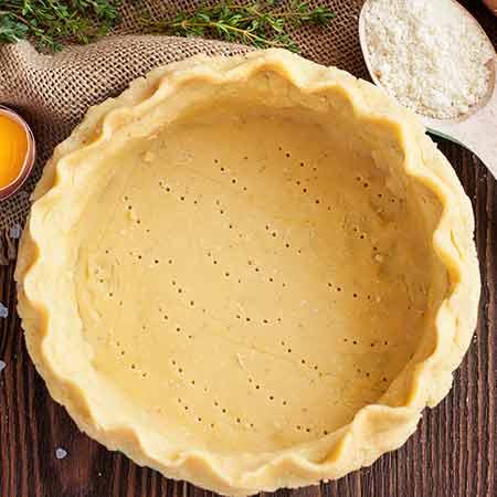 Pie crust pasta brisèe americana