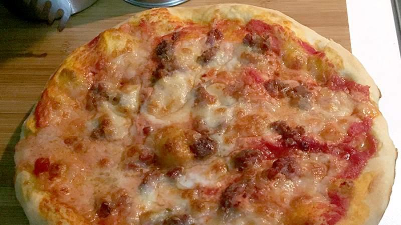 Ricetta Impasto Pizza Bimby Tm31.Pizza A Lunga Lievitazione Ricette Bimby