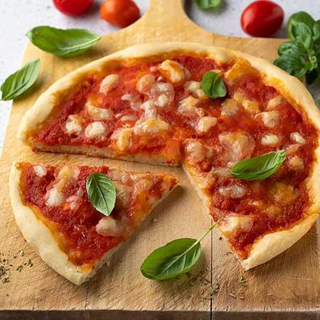 Pizza con farina manitoba