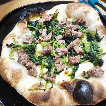 Pizza con lievitino