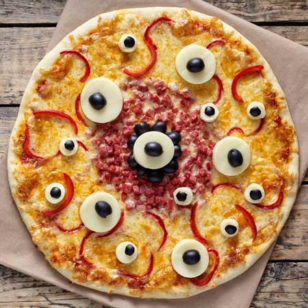 Pizza mostruosa