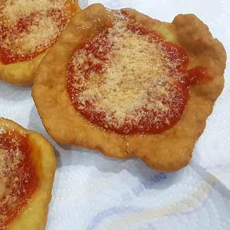 Pizzette fritte napoletane veloci