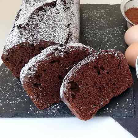 Plumcake al cioccolato veloce