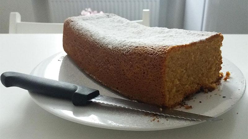 Plumcake al limone con farina d'avena