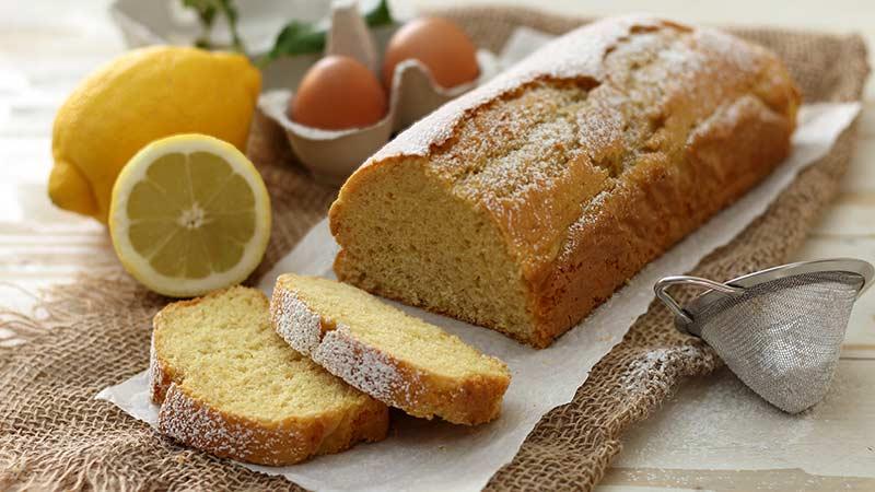 Plumcake al limone senza latte