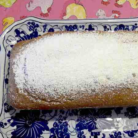 Plumcake al pistacchio