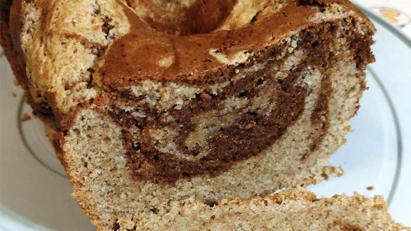 Plumcake cappuccino