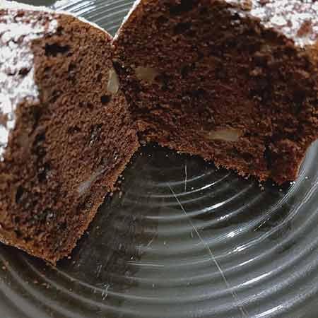 Plumcake cioccolato e pere