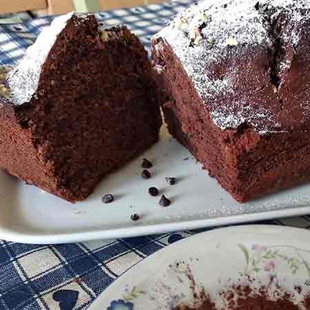 Plumcake cioccolato e rum