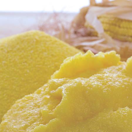 Plumcake di polenta e zucchine
