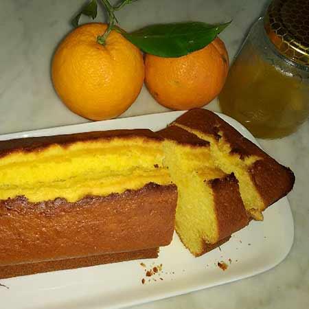 Plumcake miele e arancia