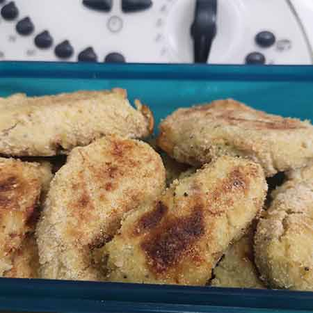 Polpette broccolo e patate con cuore filante