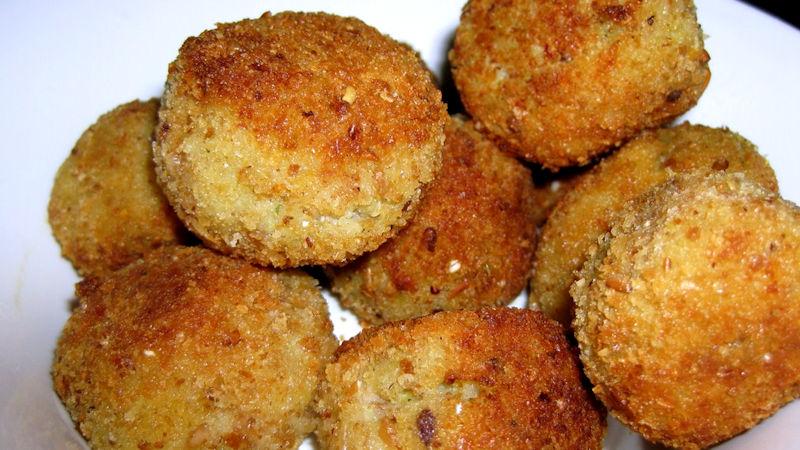 Polpette di tonno fritte