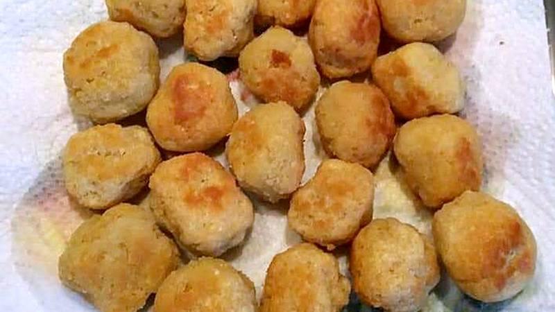 Polpette pane e formaggio