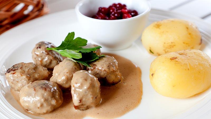 Polpette svedesi köttbullar