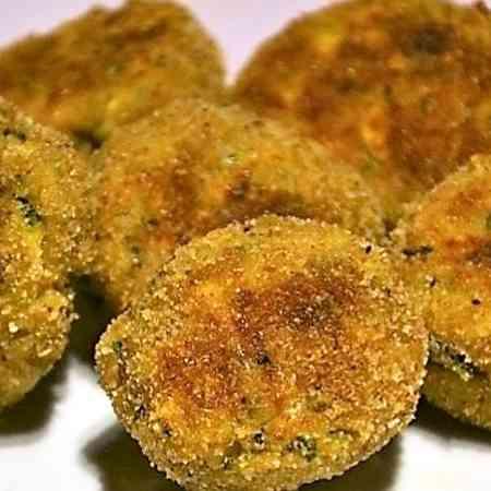 Polpette zucchine, ricotta e tonno
