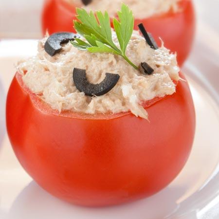Pomodori con tonno a Varoma