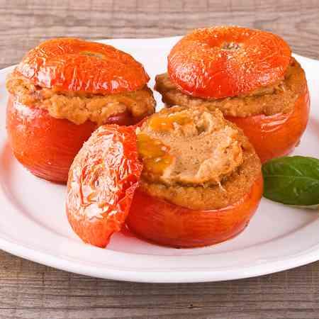 Pomodori ripieni di tonno veloci