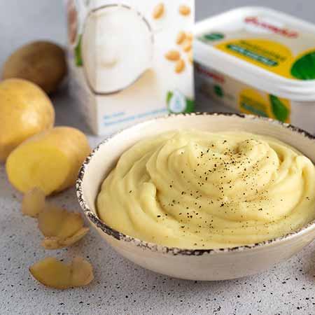 Purè di patate senza lattosio