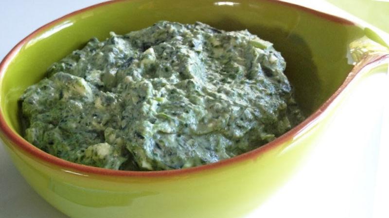 Purè di spinaci