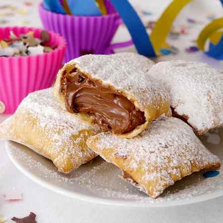 Ravioli dolci alla Nutella