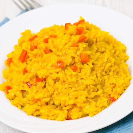 Riso speziato al curry