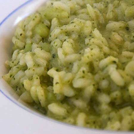 Risotto al broccoletto