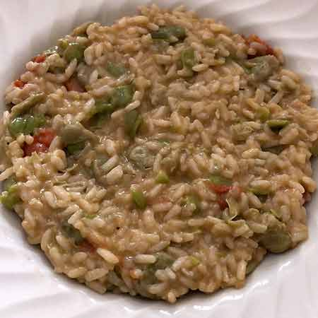 Risotto alle fave