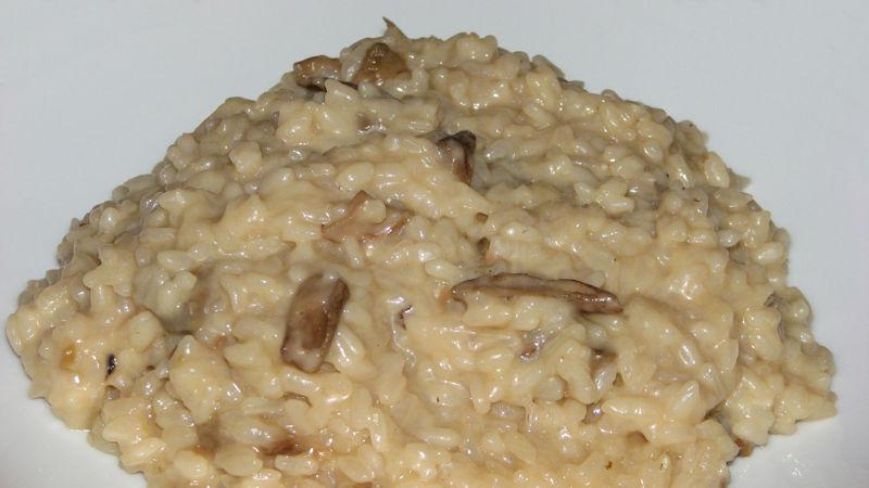 risotto funghi e salsiccia delicato - ricette bimby