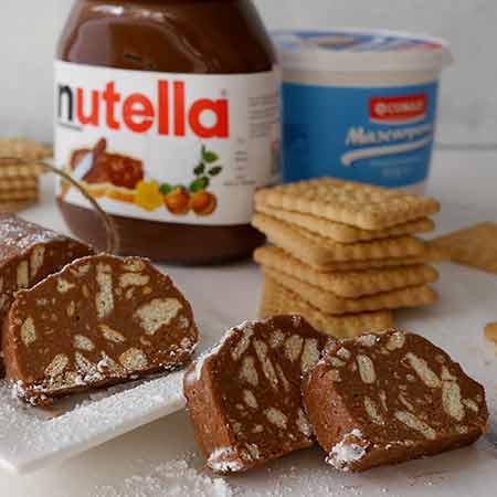 Salame alla Nutella