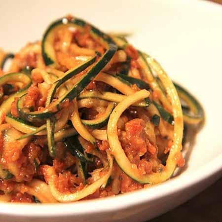 Salsa di olive e basilico