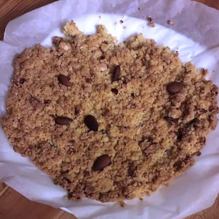 Torta crumble con mandorle