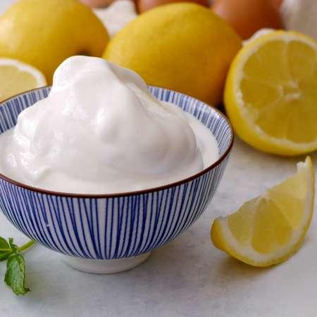 Sorbetto al limone cremoso