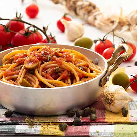 Spaghetti alla puttanesca